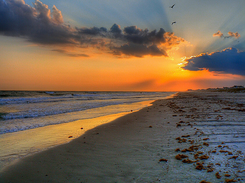 Atlantic Beach HDR Sunset