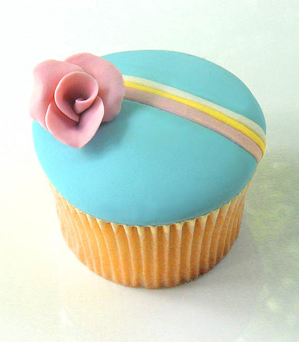 1980's Style Cupcake