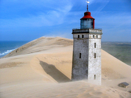 Lighthouse in Dune