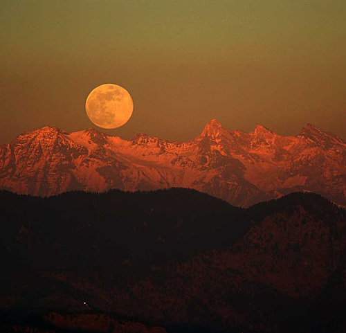 Himalayan Moonrise