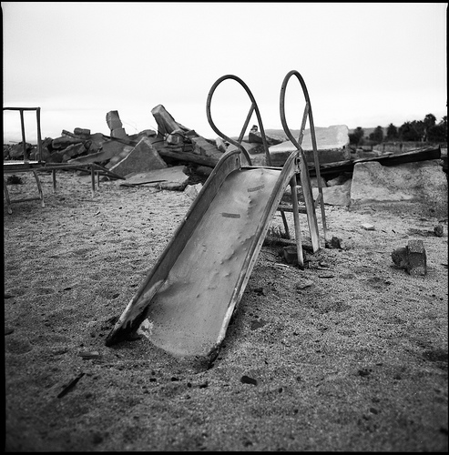 post-apocalyptic playground
