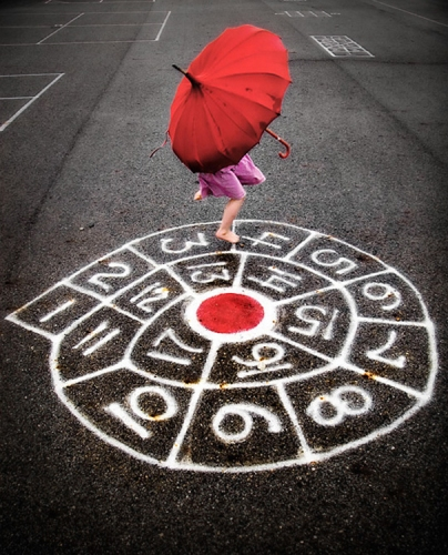 Rainy Day Hopscotch