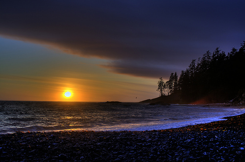 West Coast Trail Sunset