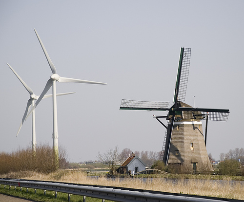 21 Pictures of Windmills of the Past and Present