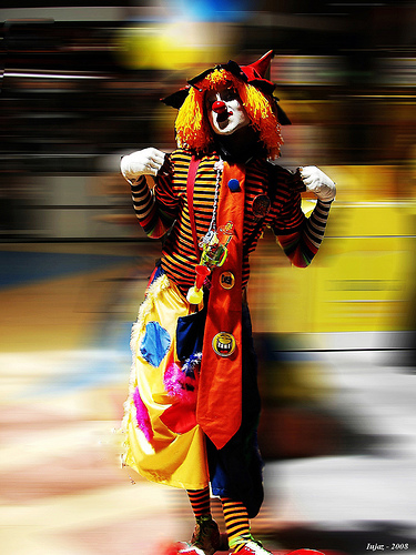 Clown by iujaz