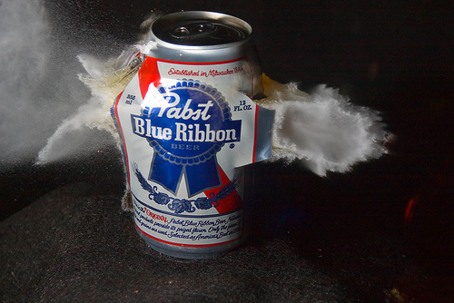 Pabst + Hollow Point by nebarnix