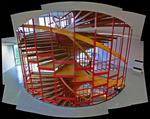 Double Spiral Staircase