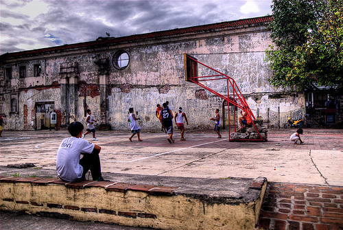 Basketball in Intramuros by wili hybrid