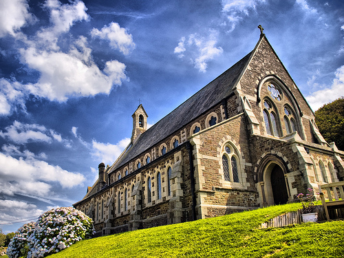 Devon Church by etrusia_uk