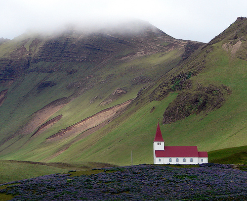 An Icelandic country church by bobtravis