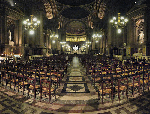 Paris - Église de La Madeleine by Panoramas