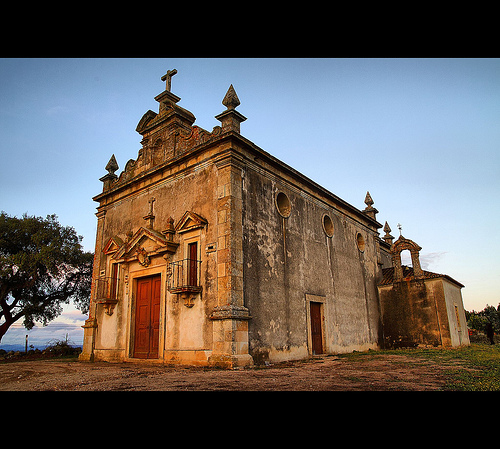 The Old Church by Fr Antunes
