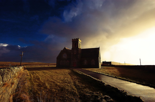 Heylipol Church, Tiree by atomicjeep