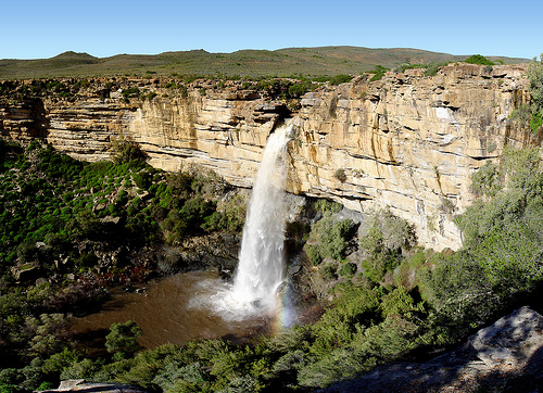 Doorn River Waterfall, Northern Cape by coda
