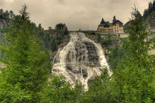 Toce Waterfalls by Wagman 30