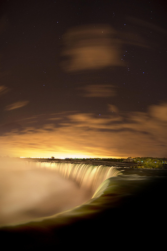 The Stars of Niagra Falls by Insight Imaging