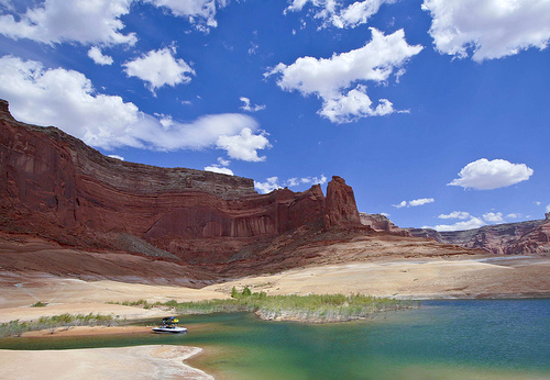 Lake Powell, Utah by David Winnie
