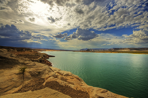 Lake Powell by Wolfgang Staudt