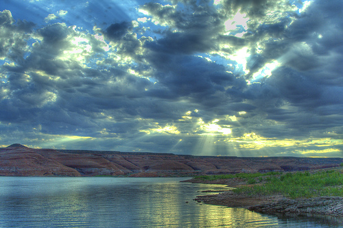 Powell Sunrays by Scott Ingram Photography