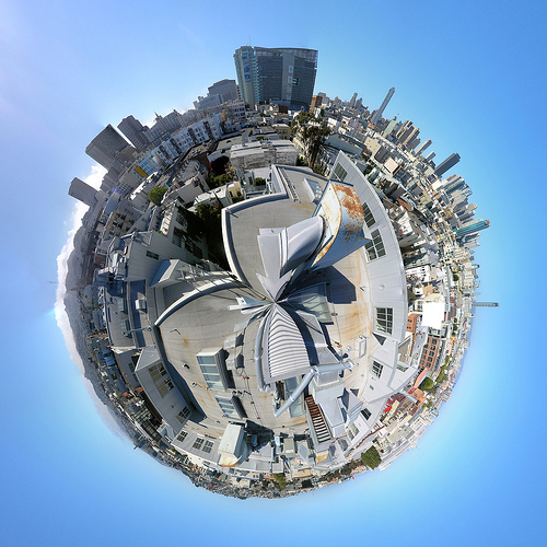 Wee Planet San Francisco by boltron