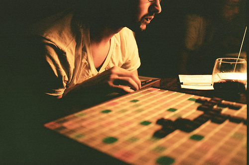 Scrabble by allie pasquier