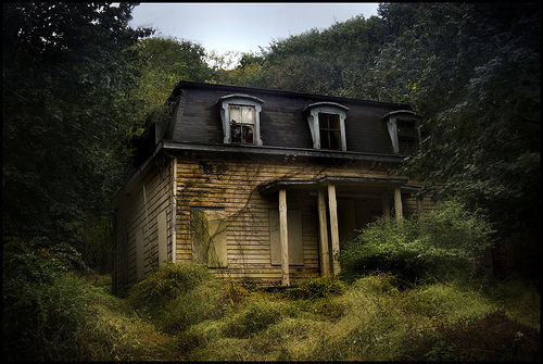 Abandoned house behind Rockland Lake by Elephi Pelephi