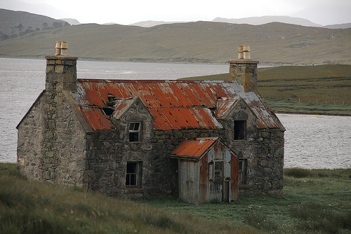 The Abandoned House By Calanais by Stuart Herbert