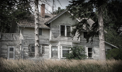 Abandoned Farmhouse by McMorr