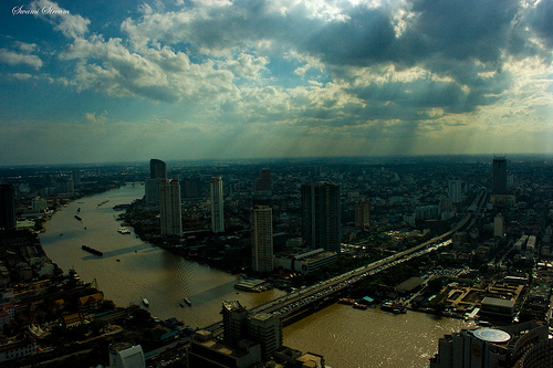 Bangkok Skyline by Swami Stream