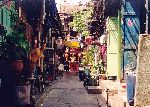 Bangkok backstreet by Ahron