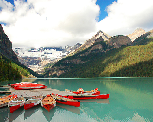 Lake Louise - Banff by Devonaire