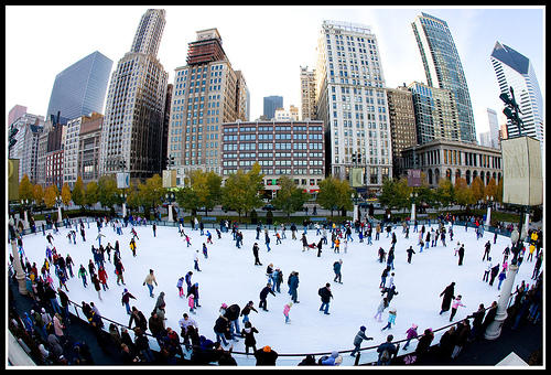 Chicago Skating by fensterbme