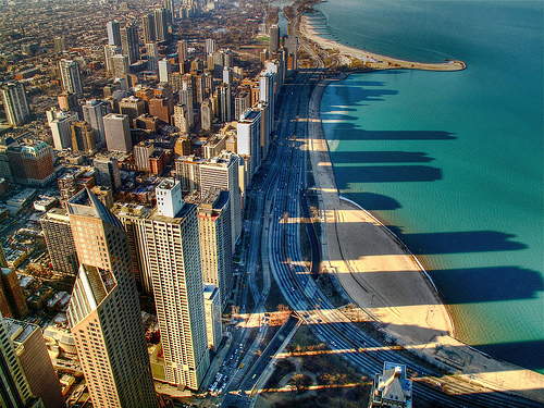 Downtown Chicago by Premshree