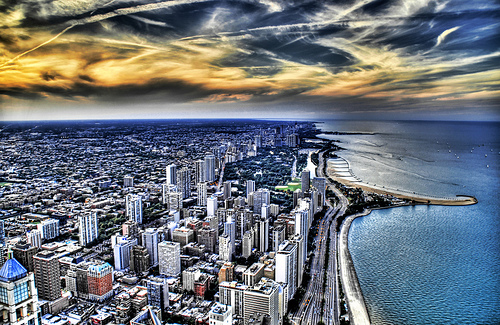 The Great Lake of Chicago by Stuck in Customs