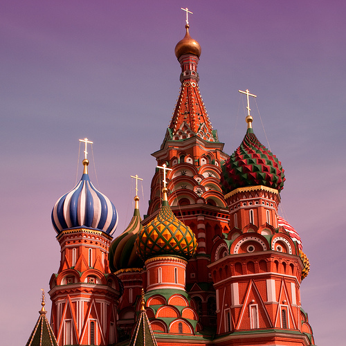 St Basil's Cathedral by Ivan M