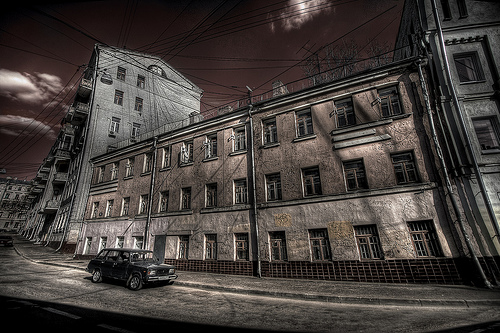Moscow streets by cavin