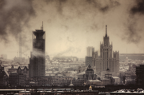 Another day of Moscow by cavin