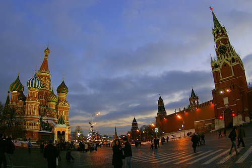 Red Square by Adam Baker
