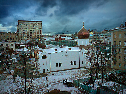 Backyards of Moscow by maistora