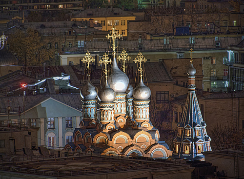 Moscow Roofs by maistora