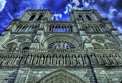 Notre Dame at Noon by Stuck in Customs