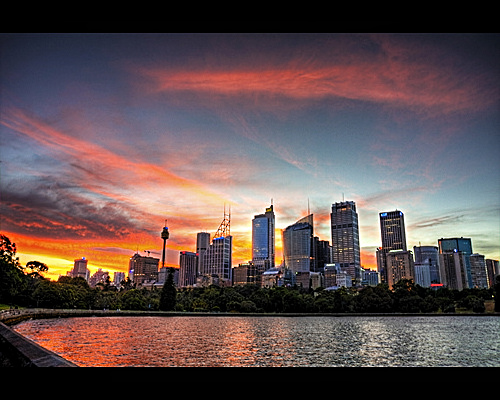 Sydney Skyline by Amit