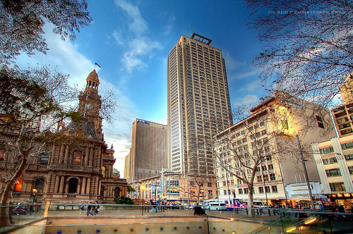 George Street, Sydney by Christopher Chan