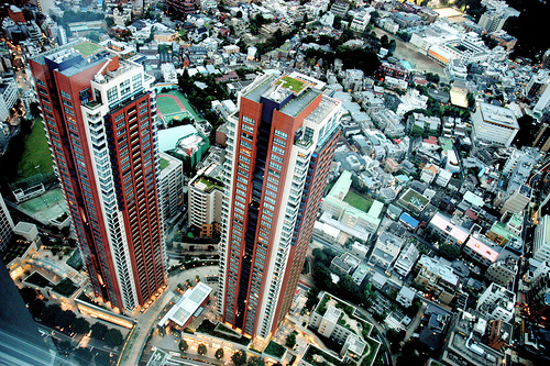 Tokyo Highrise by Image Zen