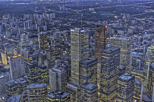 Downtown Toronto by Astro Guy