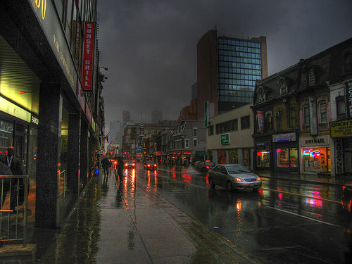 HDR My Wet Toronto by Lone Primate