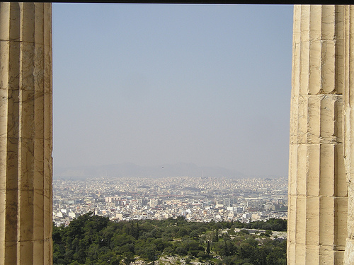 A Window On Athens....