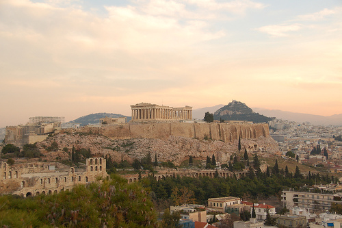 The Acropolis at Sunrise