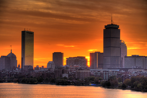 Boston sunrise