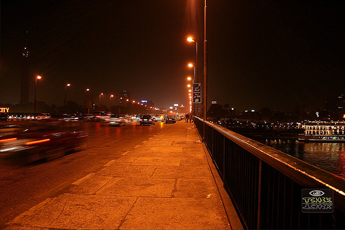 6th October Bridge by Hossam all line